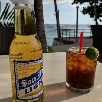 SML, Rum, Coke and Calamansi